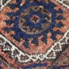Squarish double niche rug MsB 105