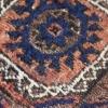 Squarish double niche rug MsB 105